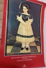 Vintage Poster  Exhibit of Mexican Costumes at Joyas de la Pintura Mexica