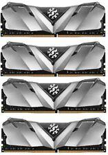 XPG GAMMIX D30 Desktop Memory Series: 32GB (4x8GB) DDR4 3000MHz CL16 Black