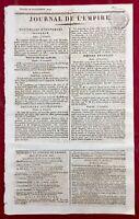 Regnéville sur Mer en 1809 Granville Manche Douai Lille Journal de l'Empire