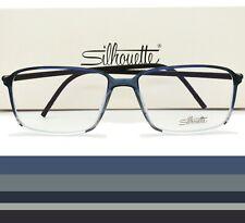Silhouette Eyeglasses Frame SPX ILLUSION 2887 10 6053 55mm