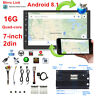 """2DIN 7"""" Android 8.1 Car Radio GPS Navigation Audio Stereo MP5 Player Mirror Link"""