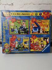 4 in a box Jigsaws- Bob The Builder- Ravensburger