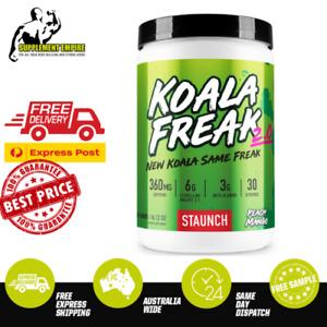 STAUNCH KOALA FREAK 2.0 Pre Workout Energy Focus Intensity Preworkout 30 Serves