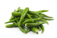 Fresh Thai Small Green Chillies / Peppers (100g) - UK Seller