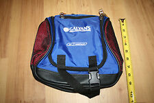 "Vintage Reebok Galyan's Small 10"" Blue Zippered Bicycle Bike Carrying Bag Tote"