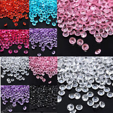 1000Pcs Clear Acrylic Beads Vase Filler Wedding Party Decoration DIY Ornament EB