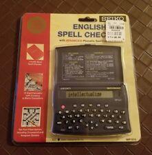 NEW Seiko Electronic English Spell Checker WP1010 Sealed SII NIP Black Advanced