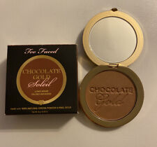 TOO FACED CHOCOLATE GOLD SOLEIL GILDED BRONZER Luminous Full Size 💯Authentic