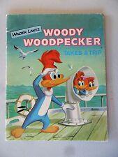Woody Woodpecker Takes A Trip SC Golden Press 1961