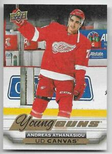 15/16 UD SERIES 2 HOCKEY YOUNG GUNS RC CANVAS CARDS (C211-C240) U-Pick From List