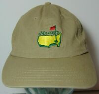 AMERICAN NEEDLE THE MASTERS AUGUSTA GEORGIA ADJUSTABLE GOLF HAT CAP TIGER WOODS