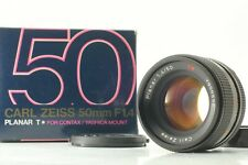 [Exc++++ in BOX] Contax Carl Zeiss Planar T* 50mm f/1.4 MF MMJ From JAPAN 821
