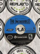 The Incredibles Rise of the Underminer (GameCube) - Disc Only