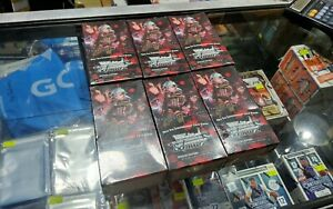 6 SEALED BOXES SWORD ART ONLINE II EXTRA BOOSTER WEISS SCHWARZ ENGLISH