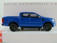 Busch 52803 Ford Ranger (2016) in blau 1:87/H0 NEU/OVP