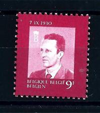 BELGIUM - BELGIO - 1980 - 50° anniversario di Re Baldovino I