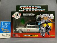 [ToysHero] In Hand Transformers Ghostbusters Ectotron Ecto-1 Exclusive