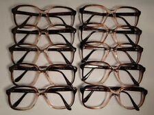 Vintage 10 Pc. Lot Elite Max Sherry 54/20 Eyeglass Frame New Old Stock #S14
