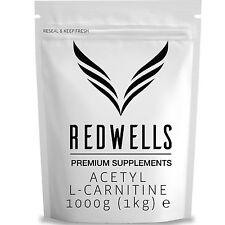 Pure Acetil L Carnitina In Polvere (ALCAR) 1kg-alta qualità con libera Scoop!