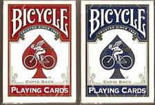 2 DECKS Bicycle Cupid Back gold trim playing cards FREE USA SHIPPING!