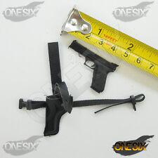 XB110-04 1/6 Dragon DID U.S. Pistol w/ Leather Holster
