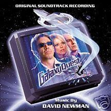 Galaxy Quest SCORE SOUNDTRACK CD D. Newman - RAR / NEU