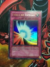 Mirror Force 1st Ultra Rare PMT-P138 Played Portuguese Forca Do Espelho Foreign