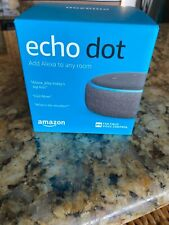 Amazon Echo Dot (3rd Generation) Smart Speaker w/Alexa - Charcoal - Model C78MP8