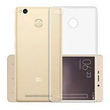 "FUNDA de GEL TPU FINA ""ULTRA-THIN"" 0,3mm TRANSPARENTE XIAOMI REDMI 3S / 3 PRO"