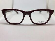 326b904a875 NEW Calvin Klein CK 7942 606 Oxblood Burgundy 52.18 .140 mm Eyeglass Frame