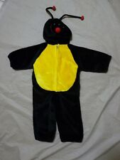 Plush Lady Bug Halloween Kids Costume Size 2T-3T Toddler