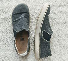 $134 Birkenstock Womens Barrie Navy Casual Flats EUR 39 Comfort Walking Shoes