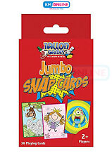 Childrens Jumbo Snap Cards 12 X 8.5cm Large Party Bag Stocking Filler Gift