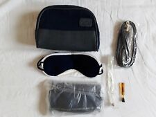 New KLM Business Class Amenity Bag Kit Toothbrush Socks Eyeshades + Extra