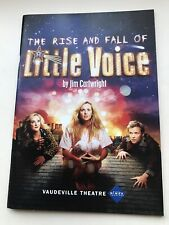 THE RISE AND FALL OF LITTLE VOICE theatre Programme LONDON WESTEND