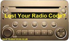 ALFA ROMEO 159 BRERA 939 RADIO CD codice decodificare servizio di Sblocco per numero di serie