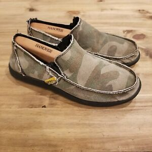 Crocs Men's Santa Cruz Camo Loafer Size 8 Slip On Comfort