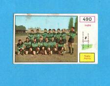CAMPIONI dello SPORT 1967/68-Figurina n.490- AQUILA TEAM -RUGBY-Recuperata