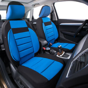 Universal 2 Front Car Seat Covers Soft Sofa Airbag Breathable For Honda Nissan