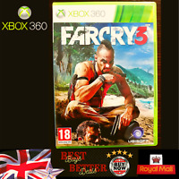 Far Cry 3  Farcry 3 Xbox 360 game VGC TESTED Free UK Delivery