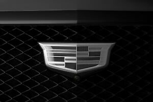 2021 Cadillac Emblems in Monochrome Finish GM OEM NEW 84675901