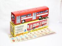 Dinky 283 Single Decker Bus In Its Original Box - Near Mint With Transfer Sheet