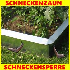 Schneckenzaun Schneckenabwehr Typ2 50cm Länge 1 Stk. aus ALU/ZINK