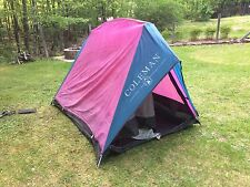 Vintage COLEMAN Mountaineer 1-2 Person Tent Hiking Camping Backpacking