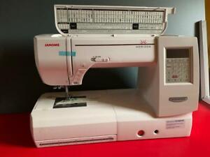 JANOME Memory Craft 8200 QC  / Nähmaschine (Gebraucht)