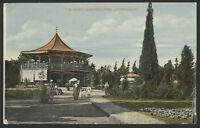 "South Africa. Johannesburg.""The Kiosk"" Joubert's Park. Vintage Postcard"