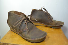 Clarks Originals Brown Leather Ankle Boots, Size 7