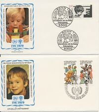 Duitsland / Germany - 2 FDC - UN / UNICEF / International Year of the Child 1979