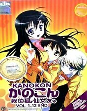 DVD KANOKON VOL.1-12END+BONUS OST TIN BOX+BONUS DVD FREE SHIPPING