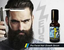 FACIAL HAIR GROWTH SERUM Chili Cinnamon Horsetail  BEARD GROWTH 11 Herbs 20ml